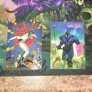 Madman 1 and Grendel 3 Wizard 🧙♂️ cards